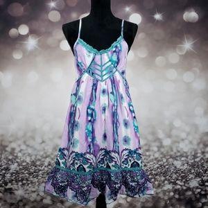 Boho Dreams Runway Paris Watercolor Dress